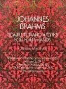 Complete Piano Works For 4 Hands: Noten für Klavier, Klavier 4-händig (Dover Music for Piano) (Johannes Brahms Complete Works)