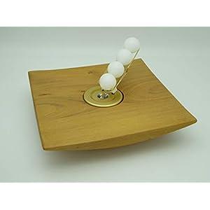 Kerzenhalter Kerze Wachskugeln Akazien Holz Edelholz Teelichthalter