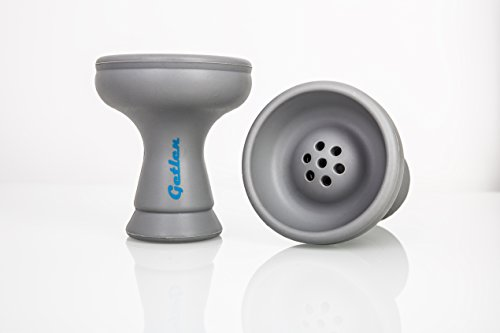 GETLEN Premium Silikon Shisha Kopf aus Silikon | Unzerbrechlicher Kopf für Wasserpfeife | Einfache Reinigung und Kopfbau