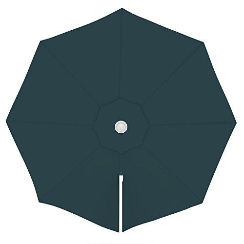 PARAMONDO Toile de rechange pour parasol avec Air Vent pour parasol à mât excentré Parapenda (3,5m / ronde), verte