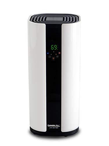 Comedes LTR 400 NEO – Leistungsstarker Luftentfeuchter, Bautrockner mit Luftreiniger-Funktion, bis zu 35l /Tag, Räume bis 100m²/230m³