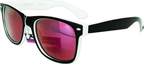 new-sunglasses-two-tone-reflective-lenses-vintage-retro-classic-style-mens-womens-uv400-black-white-