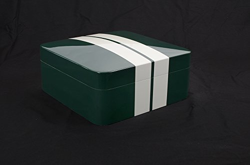 humidor-racing-green-lacado-brillo-de-alta-calidad-105-cigarros