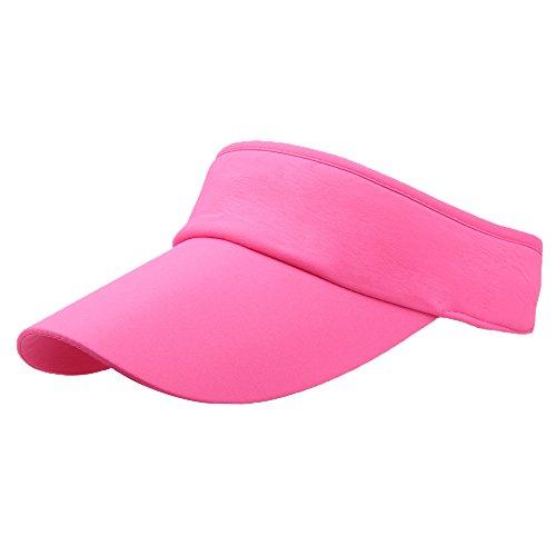 708a734ec3d2a iYmitz Men Women Sport Headband Classic Sun Visor Hat Sandwich Peak Golf  Tennis Cap
