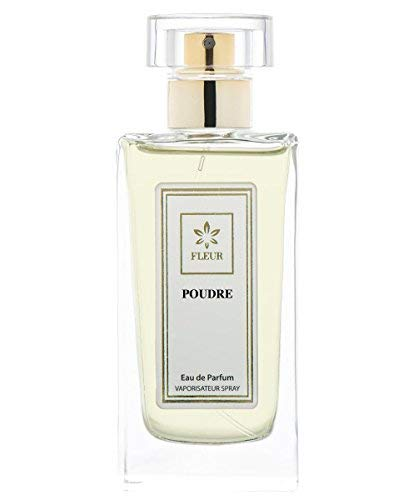 Poudre Eau de Parfum pour Femme/Women , Poudreaux-Frais-Musc Fragrance de Fleur Parfumerie , Flacon Spray Vaporisateur 1 x 30 ml