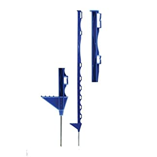 Hotline Blue Electric Fence posts, use with wire or tape, suitable for horses, cattle or sheep Hotline Blue Electric Fence posts, use with wire or tape, suitable for horses, cattle or sheep 31SGe5yJXCL