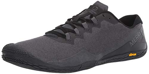 Merrell Herren Vapor Glove 3 Cotton Sneaker, Grau (Granite), 50 EU