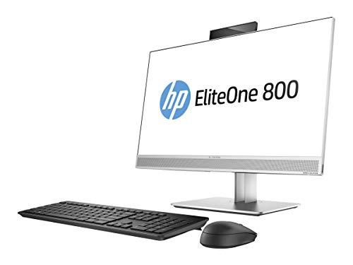 Hewlett Packard 1LU41AW#ABD All-in-One Desktop PC (Intel Core i5-7500, 8GB RAM, Intel HD Graphics 630, Win 10 Pro) Silber