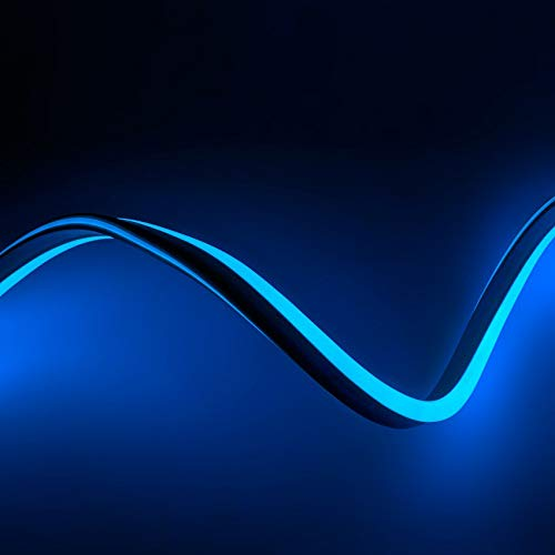 Gaine Flexible LED Néon 9 Mètres Bleu LEDKIA