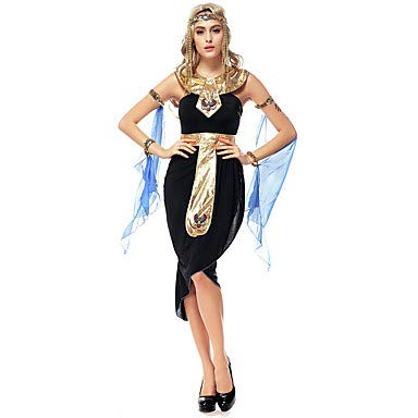 Kostüm Königin Märchen - HAOBAO Cosplay Kostüme Party Kostüme Königin Märchen Göttin Ägyptische Kostüme Fest/Feiertage Halloween Kostüme VintageOther Kleid Gürtel