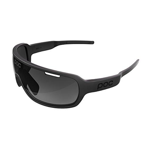 POC DO Blade Sonnenbrille, Unisex Erwachsene Einheitsgröße Schwarz (Uranium Black)