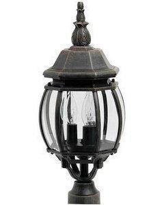 Maxim Lighting 1035RP 3 Light Crown Hill Post Mount Light by Maxim Lighting -