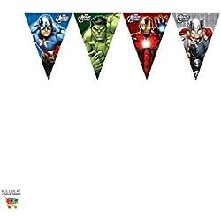 Avengers - Banderas Pennant, compilación de héroes (Procos 6884655)
