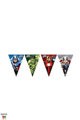 Avengers - Banderas Pennant, compilación de héroes...