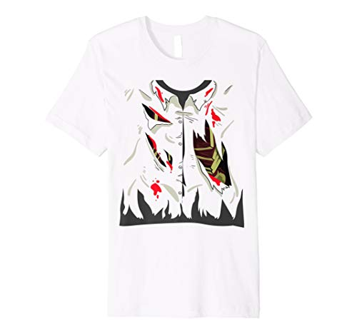 Zombie Kostüm T-Shirt Lustig leben Tote Halloween -