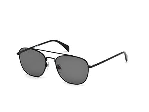 Diesel Herren DL0194-02A-54 Sonnenbrille, Schwarz, 59