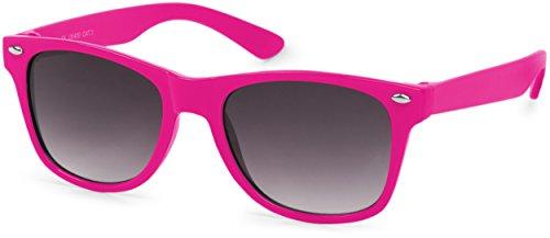 styleBREAKER gafas de sol para niños, retro clásicas, diseño nerd 0