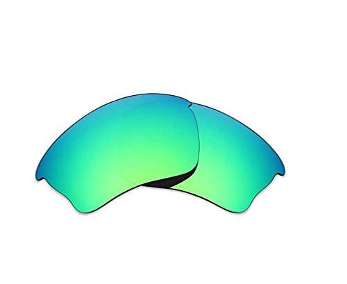 AOKELIS Polarisierte Ersatzgläser für Oakley Half Jacket XLJ (Grün)