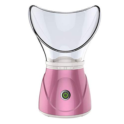 SUN RNPP Gesicht IonischGesichtsdampfer Luftfeuchtigkeits-Befeuchter und Wasser-Sprayer-Zerstäubungsbefeuchter für die Familie deckt die Poren von Mitessern auf,Pink