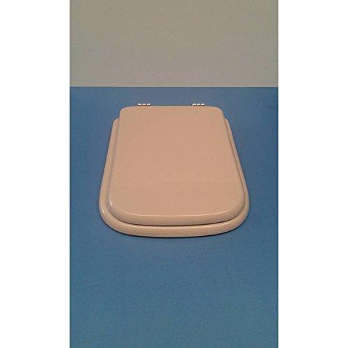 Acb/colbam copriwater in legno rivestito di poliestere per ideal standard conca visone i.s. cerniera oro-sedile-asse wc