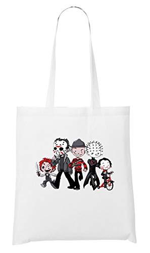 (Certified Freak Halloween Crew Bag White)
