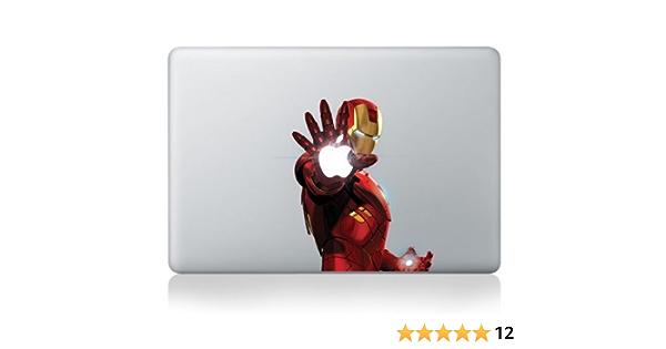 Iron Man Main Autocollant MacBook Pro Tous Les Mod/èles Air
