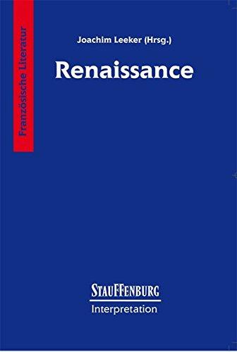 Stauffenburg Interpretation, Französische Literatur, Renaissance