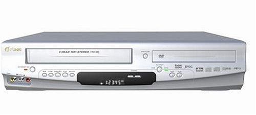 Funai DP-VR 6630 DVD-Player/VHS-Rekorder-Kombination silber (Vhs-player-recorder)