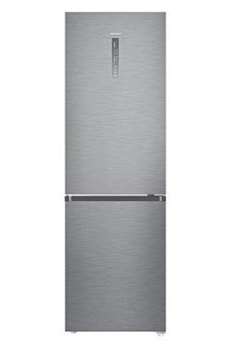 Haier C3FE835CGJE Kühl-Gefrier-Kombination/A+++ / 190 cm 183 kWh/Jahr / 231 L Kühlteil / 108 L Gefrierteil/Top-LED Beleuchtung/silber - Ruck Fleisch