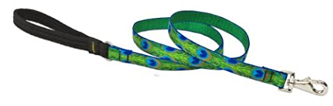 Lupine - Dog Leash, Tail Feather Pattern, 3/4