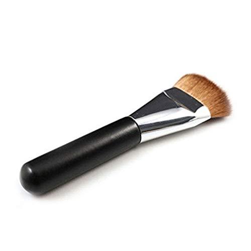 Ruiting Stiftung Make up Pinsel mit Flach Topf oder Blending Flüssigkeit Creme oder Flawless Powder Kosmetik Rauen punktiert Concealer Beauty Misc