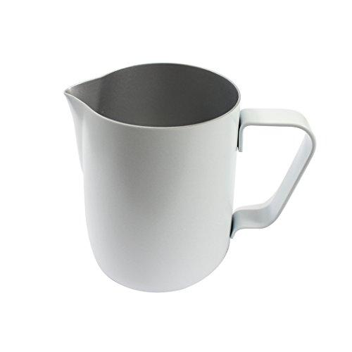 Dianoo Milch Krug, Edelstahl Milch Tasse, Guten Griff Aufschäumen Krug, Kaffeekanne,...