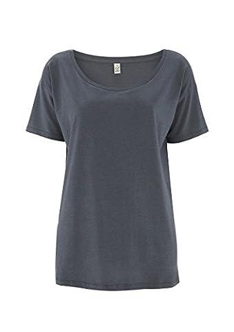 Womens Oversized Top, Organic Cotton and Eucalyptus Fibre Blend -