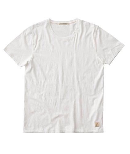 nudie-jeans-o-neck-tee-herren-t-shirt-basic-shirt-mit-rundhals-aus-reiner-bio-baumwolle-offwhite-m