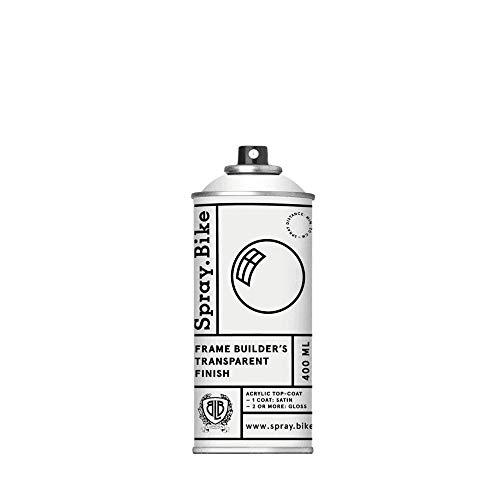 Spray.Bike Fahrrad Lackspray - Vorbereiten & Vollenden Kollektion Transparent Finish (Klarlack - glänzend)