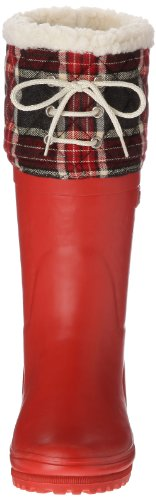 Aigle Polka Giboulee, Bottes femme Rouge (Rouge/Feutre)