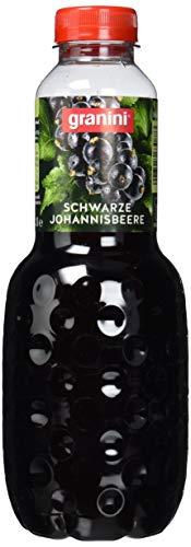 granini Trinkgenuss schwarze Johannisbeere, 6er Pack (6 x 1000 ml) - Schwarz Saft