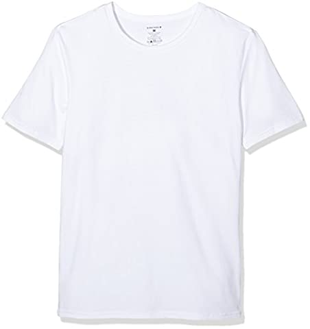 Björn Borg O Neck Seasonal Solids Pack of 2, T-Shirt Homme, Blanc, XX-Large