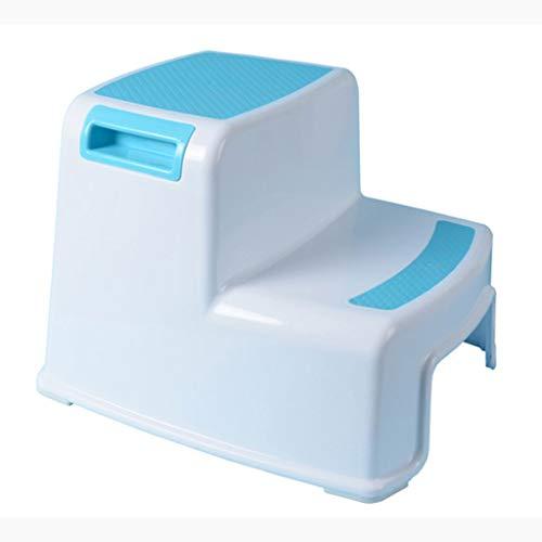 Kinder Leiter Baby Bad Anti Slip Trittleiter Home Rutschfeste Aufstieg Tragbare Hocker (Color : Blue) - Schönen Speisesaal Möbel