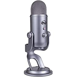 Blue Microphones Yeti USB Microphone, Gris cool grey