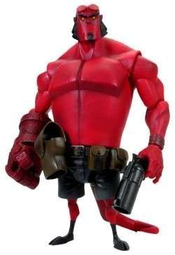 Hellboy Animated: Hellboy 10-Inch Roto Action Figure by Hellboy (Figure Hellboy Action Animated)