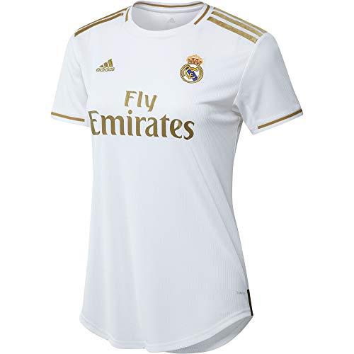 adidas Real Madrid Home Jersey Camiseta de Manga Corta, Unisex Adulto, Blanco (White), M