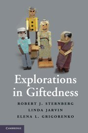 Explorations in Giftedness by Robert J. Sternberg (2010-09-30)