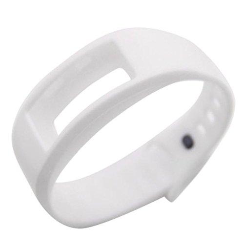 Vovotrade ❤❤Für Samsung Gear Fit 2 SM-R360 Luxus Silikon Uhr Ersatz Band Strap Wristband (Weiß)
