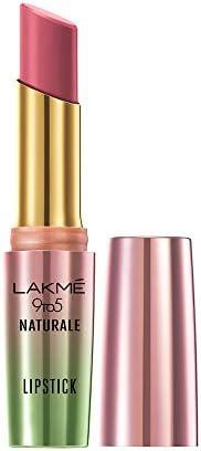 Lakme 9to5 Naturale Matte Lipstick, Salmon Pink, 3.6 g