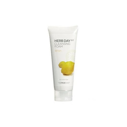 The Face Shop - Herb Day Cleansing Cleansing Foam (Lemon)170ml /Made in Korea