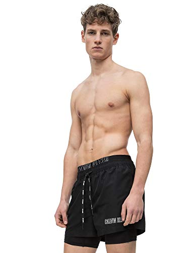 Calvin Klein Short Jammer Swim Shorts Large Black