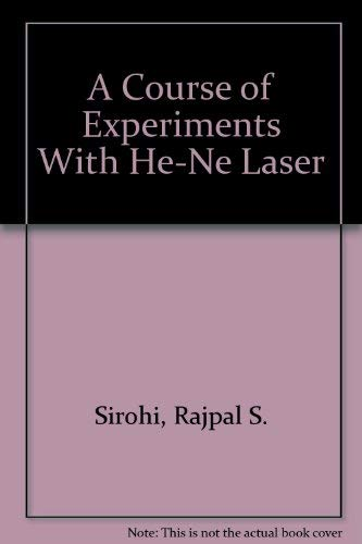 A Course of Experiments With He-Ne Laser Hene-laser