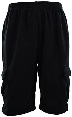 ChoiceApparel-Mens-Cargo-Sweat-Shorts-M-up-to-5XL