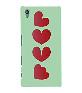 Hierarchy Of Love 3D Hard Polycarbonate Designer Back Case Cover for Sony Xperia Z5 :: Sony Xperia Z5 Dual (5.2 Inches)